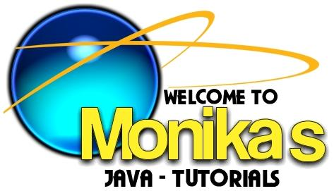 Welcome to Monikas Java-Tutorials